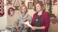 Video #CreattivaChannel - Decorazione di Natale porta dono e stella Nata...