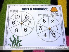 Miss Kindergarten: Common Core Math Games!
