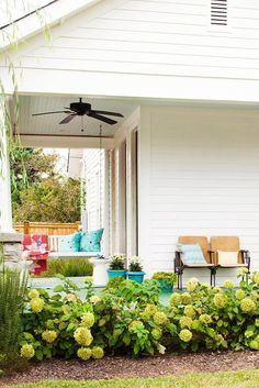 Vintage treasures, salvage scores, and flea market finds aren't just for interior decorating. Bring these treasures outside to create comfortable outdoor rooms that reflect your personal style. These vintage outdoor living ideas will help you outfit your space with a one-of-a-kind look. #vintage #outdoorpatioideas #ideas #decorating #seatingarea #bhg Outdoor Seating, Outdoor Rooms, Outdoor Living, Deck Decorating, Interior Decorating, Deck Design Plans, Metal Lawn Chairs, Relaxation Station, Vintage Porch