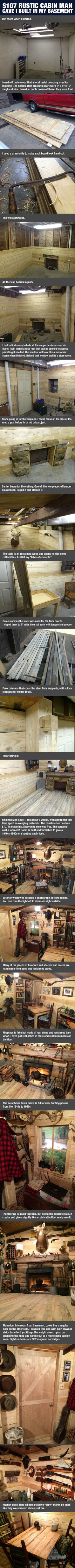 His Guy Transformed His Old Basement Into Awesomeness