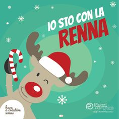 #Facebook #Promo for #Christmas #Natale #Xmas #Reindeer #Renna- Rienzi Comunica #Varese (2014) Renna, Graphic Portfolio, Snoopy, Facebook, Creative, Poster, Fictional Characters, Art, Art Background