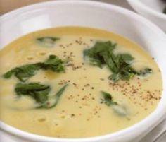 Menus Bimby - Sopa de grão com espinafres