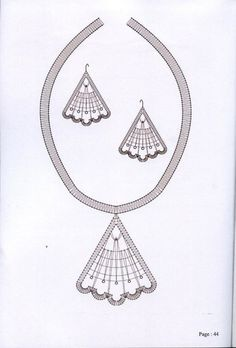 Bobbin Lace Patterns, Crochet Patterns, Bobbin Lacemaking, Crafts With Pictures, Point Lace, Lace Jewelry, Needle Lace, Lace Making, Crochet Accessories