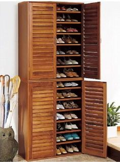 Shoe Storage Cabinet: Family Entryway Shoe Cabinet Bench ~ General Ideas  Inspiration   Side By Side?