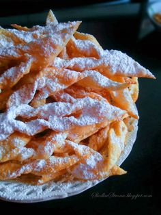 Polish Cookies, Sweet Bakery, Happy Foods, Cake Cookies, Sushi, Waffles, Snack Recipes, Food And Drink, Sweets