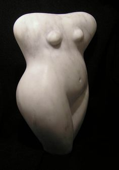 'Sister in Soul' by Belgian-born New Zealand sculptor Renate Verbrugge (b.1964). Stone carving. via the artist on tart