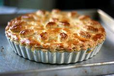 Pastel de pollo (se puede hacer con restos de pollo guisado o asado)