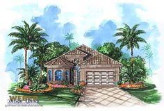 Mediterranean House Plan - Catalina Home Plan