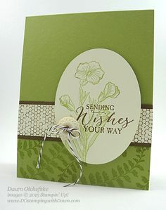 Weekly Deal Butterfly Basics stamp set card created by Dawn Olchefske #dostamping #stampin up