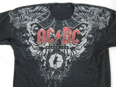 AC/DC Black Ice T-Shirt (Pre-owned) #NoTag #GraphicTee