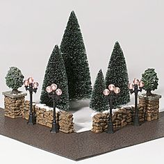 "Department 56: DECORATING - ""City Landscape Set"" - Christmas In The City®"