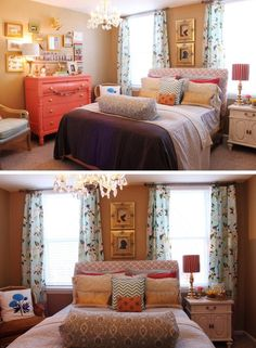 eclectic bedroom by katharine