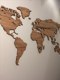 10 world map designs to decorate a plain wall raising woods and globes le monde wanderlust worldmap wall cards gumiabroncs Image collections
