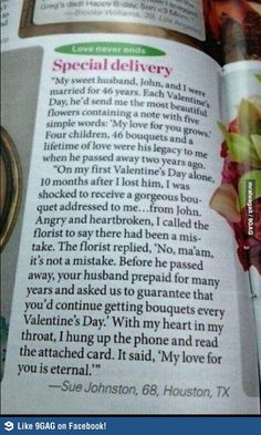 I cry every time I read this TRUE LOVE