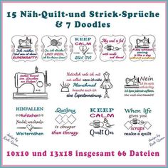 Näh-/ Strick-/ und Quilt-Sprüche Stickdatei http://www.rock-queen.de/epages/78332820.sf/de_DE/?ObjectPath=/Shops/78332820/Products/2098
