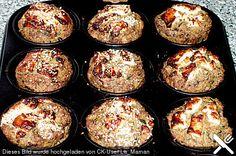 Hackfleisch - Gemüse - Muffins