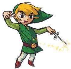 Legend Of Zelda The Wind Waker-Toon Link