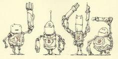 Robot A through Z — Mattias Adolfsson