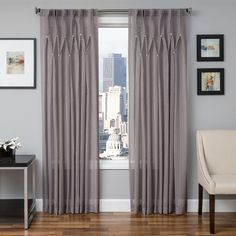 """Manta Pealed Sheer with Jewels, Silver - $49.49, 44""""W x 96""""L"""