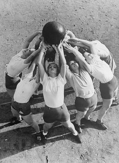 Group Exercise, Germany, 1936