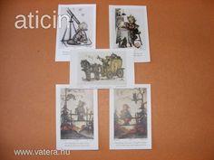 Berta Hummel kis szentképek, szorgalom kártyák, a 30-s évekből! Original Rare Print! Fleißbildchen