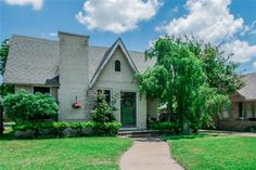 Available-Great property homes in Dallas Fort Worth Area - Precious Tudor cottage just 3 blocks for TCU campus. Fort Worth, Cabin, The Originals, House Styles, Home Decor, Decoration Home, Room Decor, Cabins, Cottage