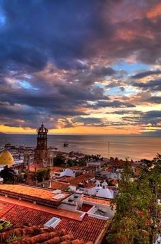 Puerto Vallarta, Mexico by josef kandoll- looks so beautiful! Places Around The World, Oh The Places You'll Go, Places To Travel, Around The Worlds, Travel Destinations, Cancun, Tulum, Two Worlds, Wanderlust