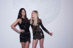 Backstage Pass: Milan Fashion Week Fall 2014 - Versace Fall 2014