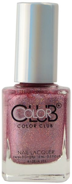 Color Club I've Got A Crush, Free Shipping at Nail Polish Canada Spa Branding, Polish Names, Color Club, Holographic Glitter, Nails Magazine, Crushes, Manicure, Perfume Bottles, Nail Polish