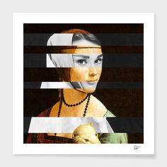 Leonardo's Lady with an Hermine & Audrey Hepburn main illustration
