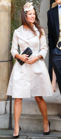 Pippa Middleton's Memorable Style Moments - February 8, 2014 from #InStyle