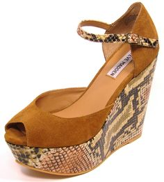 I HAVE THESES SHOES! THEY ARE AWESOME!!                                     STEVE MADDEN BY kiki modayfashion $50.00 Madden-shoe-Womens-Tan-Suede-with-Snakeskin-