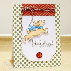 CRAFTY GIRL DESIGNS: Newton's Nook Designs Holiday Release- Holiday Hounds