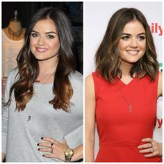 Chop, Chop: 21 Celebrities Go From Long to a Long Bob: Lucy Hale