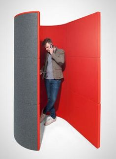 open phone booth - modular