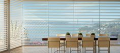 Window Sheers and Shadings - contemporary - Dining Room - Other Metro - Accent Window Fashions LLC #Hunter_Douglas #Window_Sheers #Window_Shadings #HunterDouglas