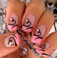 Cute preteen or teen nails