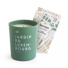 bougie parfumée Jardin du Luxembourg