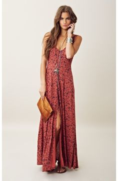 Free People Gold Coast Maxi Dress. OMG seriously what I've been looking for! Wish it was on sale!!! :(