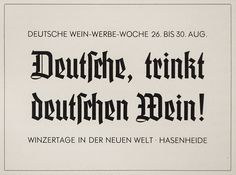 In specimens of the early 1930s German type foundries suggested mixing blackletter with geometric sans serifs. The first example shows Element (1934) in the headlines accompanied by Futura (1927), both by the Bauer Type Foundry (not related to Friedrich Bauer). Another showing demonstrates a mix of Jochheim-Deutsch (1934) and Atlantis Grotesk (1933), both by Wilhelm Woellmer type foundry. (Reproduced from *Klimschs Jahrbuch*, volumes 27 and 28, with kind permission from the collection of…