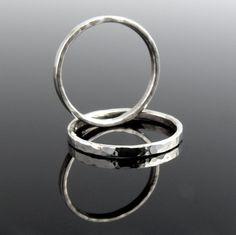 443970f51 e s s e n t i a l - sada dvou prstenů Ag 925/1000 / Zboží prodejce Novalinda
