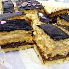 Hungarian Desserts, Hungarian Recipes, Hungarian Food, Breakfast Recipes, Dessert Recipes, Sweet And Salty, Cake Cookies, Food And Drink, Vegetarian