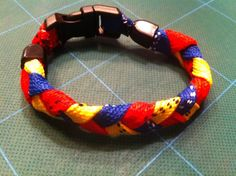 Braided Hockey Skate Lace Bracelet on Etsy, $14.00
