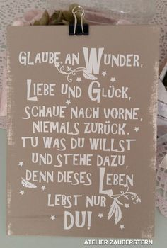 Words Quotes, Sayings, German Quotes, Philosophy Quotes, Happy Paintings, True Words, Birthday Quotes, Positive Vibes, Hand Lettering