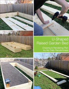 Spring is the perfect time to get your brand new garden in order. Building a U-Shaped Raised Garden Bed offers many advantages including easy of access, scale, and protection from animals. This easy how-to guide provides you will a drawing and rendering of a u-shaped raised garden bed, making it easy for you to build one yourself.