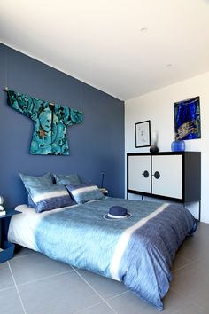 Du bleu de mer : Ma chambre en bleu - Journal des Femmes