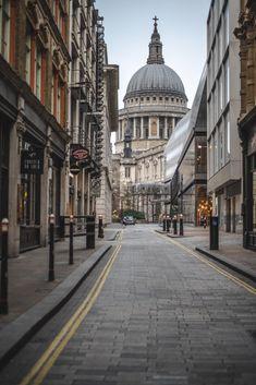 s Cathedral, London, England London Photography, City Photography, Landscape Photography, City Aesthetic, Travel Aesthetic, Saint Paul London, Portsmouth, Paris, London Dreams