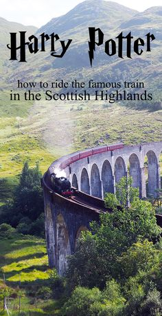 Tips on how to see and ride the iconic Harry Potter train, the Hogwarts Express in Scotland Everything you need to know about the Harry Potter train in Scotland and the iconic Glenfinnan Viaduct: when and where to go, as well as inspiring photos. Scotland Road Trip, Scotland Vacation, Scotland Travel, Ireland Travel, Edinburgh Scotland, Honeymoon In Scotland, Visiting Scotland, Inverness Scotland, Scotland Tours