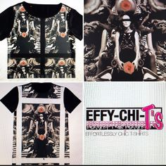 EFFY-CHI-T's Effortlessly Chic Totes and T-shirts  Check out the website for full range of styles and designs. Happy Shopping! http://www.redbubble.com/people/effychitshirts