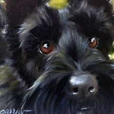Whimsical paintings of our favorite four legged friend by Mary Sparrow of Hanging the Moon Scottish Terrier Dog Portraits, Portrait Art, Sparrow Art, Animal Paintings, Dog Art, Dog Life, Dog Pictures, Illustrations, Dogs And Puppies